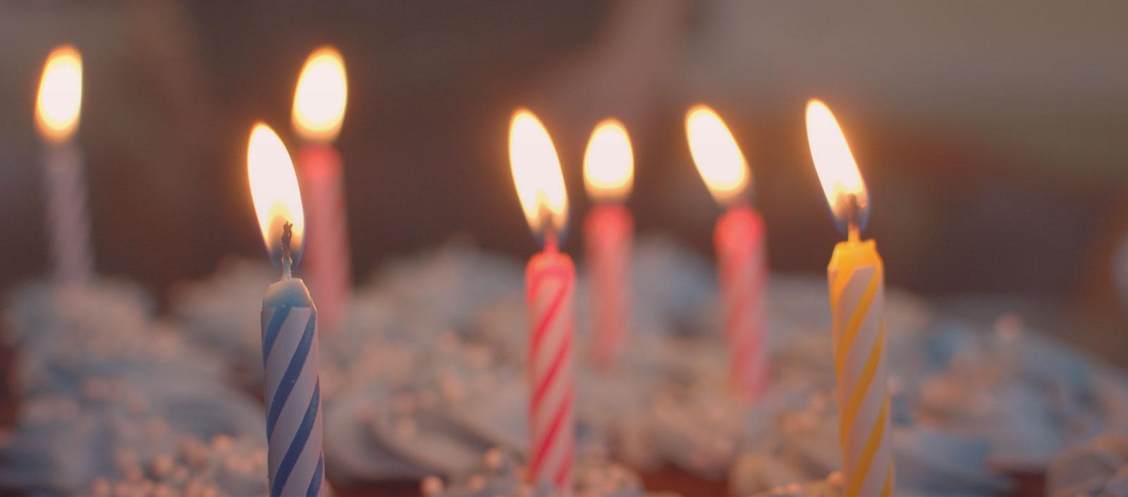 Feine Geburtstagstorten