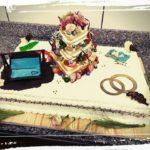 Hochzeitstorte mit verschiedenen Themen