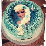 "Geburtstagstorte Motiv ""Elsa"""