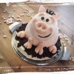 Schweinchentorte mit Nougatfüllung by Charlie