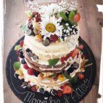 naked cake - Torte