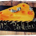 Käse kann auch als Torte lecker sein!