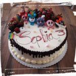 Geburtstagstorte mit lustigen Figuren