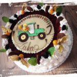 Geburtstagstorte mit Traktor