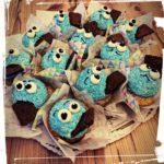 kleine Krümelmonster Cup-Cakes