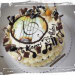 musikalische Geburtstagstorte