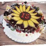 Geburtstagstorte zum 15.