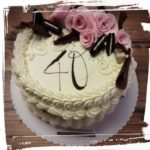 Geburtstagstorte zum 40.