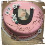 Pferdemotiv zum Geburtstag
