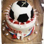 RB Leipzig Fussball Torte