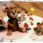 modellierte Bären