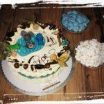Geburtstagstorte für einen großen Angler