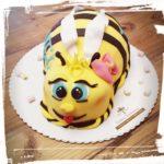 Bienenmotivtorte