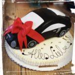 Geburtstagstorte für einen Porsche Fan