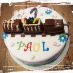 Geburtstagstorte für einen Eisenbahn Fan