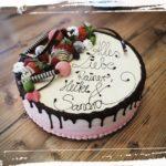 Geburtstagstorte für Rainer, Heike und Sandra