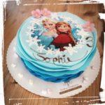 Anna und Elsa Torte
