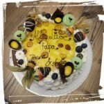 Eierlikör-Mango-Torte
