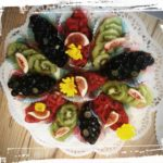 bunte Obstschiffchen