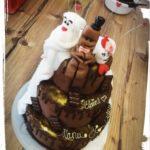 kleine Torte zum 1. Hochzeitstag